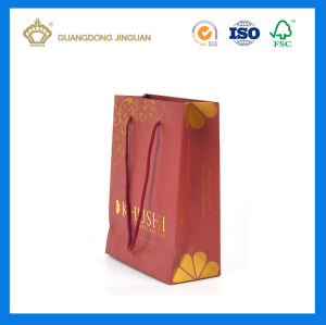 Wholesale OEM Custom Paper Bag Printing for Jewelry (Hot Stamping Logo)