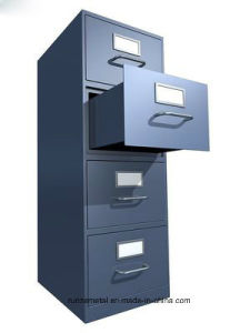 Office Metal Furniture Use 4 Drawers Filing Cabinet pictures & photos