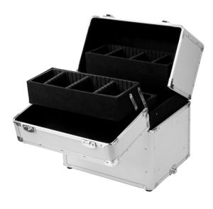 Aluminum Material and Case Type Professional Makeup Trolley CAS pictures & photos