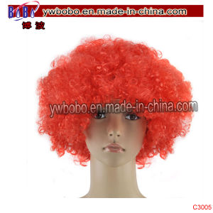 Sports Favor Costumes Ladies Full Afro Wig Party Favor (C3005) pictures & photos
