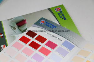 China Promotional Building Material Wall Paint Color Card Book ...