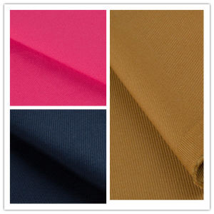 Woven Garment T400 Stretch Cotton Cavalry Twill Fabric for Shirt