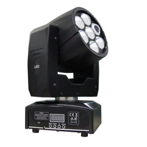 New Design 7*12W RGBW 4in1 Multi-Color LED Moving Head Beam Zoom pictures & photos