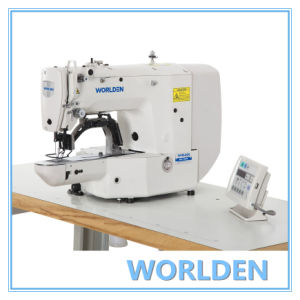 Wd-1900ass Direct Drive Electronic Bar Tacking Industry Sewing Machine pictures & photos