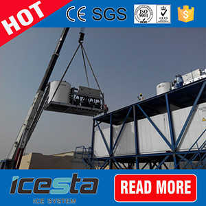 China Icesta Concrete Cooling Flake Ice Cooling Plant pictures & photos