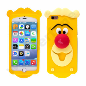 Popular Cartoon Soft Silicone Case for iPhone 7 pictures & photos