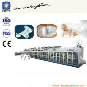 Semi-Servo Specialized Baby Diaper Production Line with Ce (BNT-BD-08)