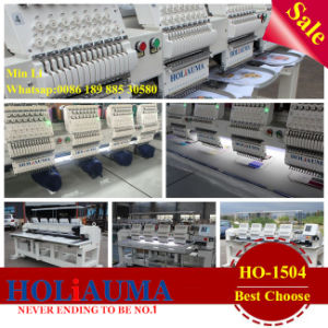 Four Heads 15 Needles with High Quality High Speed Wide Voltage Embroidery Machine on Sales on Asia pictures & photos