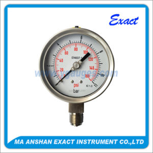 High Quality Pressure Guage-Lower Enrty Pressure Gauge-Oil Filled Pressure Guage
