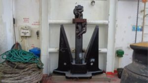 Lr ABS Dnv High Holding Power Marine Stockless Anchor