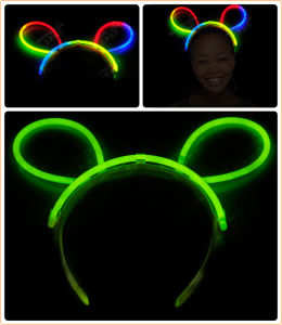 Party Glow in Dark Glow Hairpin pictures & photos