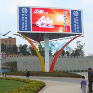 P6 Full Color Outdoor Advertising LED Display Screen