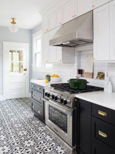 DIY Kitchen Design Style Economy Kitchen Cabinet Dark Brown Kitchen  Furniture