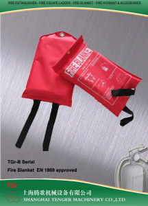 Fire Blanket-En 1869 (Nylon Bag Package) pictures & photos