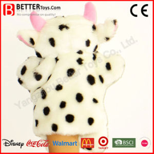 Soft Toy Stuffed Animal Cow Hand Puppet for Kids/Children pictures & photos