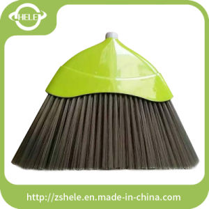 Hot Sell Southeast Asia Model with Colorful Bristle Plastic Broom (HL-A206L) pictures & photos