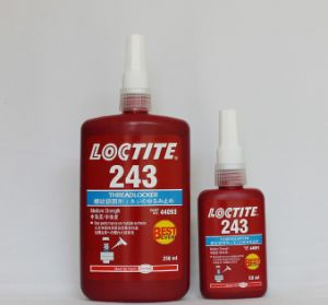 Loctite Glue Loctie 242 Super Glue for Plastics Rubber pictures & photos
