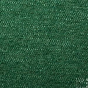 Good Luster Mixed Wool Fabric in Green