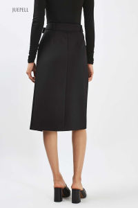 New Arrival Belted Wrap MIDI Skirt pictures & photos
