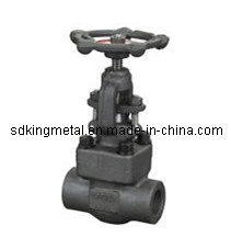 API Forged Steel Socket-Welding Globe Valve pictures & photos