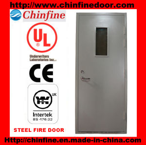 Fire Door with Lever Handle Lock (CF-F010) pictures & photos