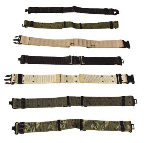 Woven Military/Police Canvas Waist Belt pictures & photos