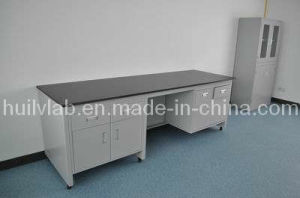 Lab Furniture Wall Bench Could Be Customization with Sink and Gas Outlet pictures & photos