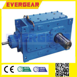 High Torque Low Noise Hb Series Heavy Duty Helical Industrial Bevel Vertical Gearbox pictures & photos