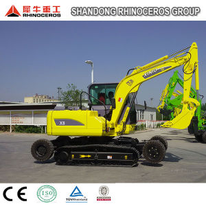 China 8 Ton Both Wheel-Crawler Excavator New Type Excavator pictures & photos