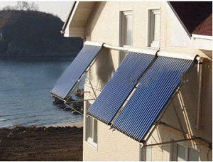 Copper Pipe Solar Heating Collector pictures & photos