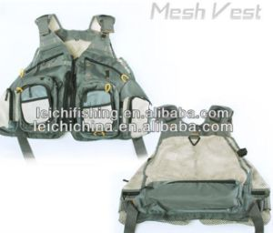 Fly Fishing Green Mesh Vest with Pockets pictures & photos