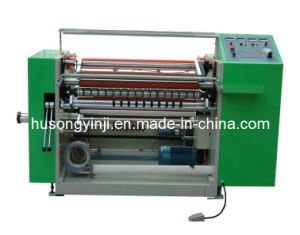 Cash Thermal Paper Roll Slitting Machine pictures & photos