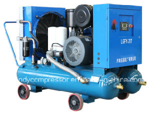 Belt Driven Screw Type Rotary Air Compressor