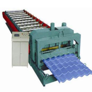 Glazed Tile Roll Forming Machine (ZY28-220-1100)