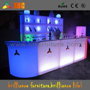 Furniture LED Light/LED Portable Bar Counter/Light Up Bar Table