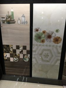 Building Material Sanitary Bathroom Glossy Ceramic Floor Wall Tile pictures & photos