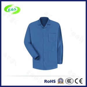 Antistatic ESD Clean Room Overcoat Smock Lab Coat Workwear Suit pictures & photos