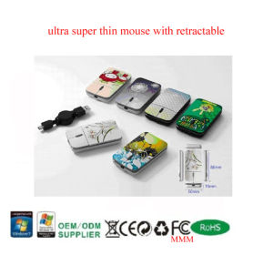 Ultra Slim Mouse With Full Printing