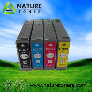 Compatible Ink Cartridge T7901/T7902/T7903/T7904 for Epson Printers pictures & photos