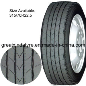 Radial Truck Tyre with DOT/ECE/Inmetro Certificate (315/70R22.5) pictures & photos