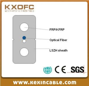 Indoor Optic Fiber Cable FTTH-Gjxfh