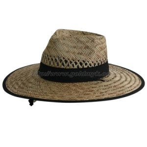 Natural Straw Hat (OKM15-055) pictures & photos