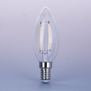 E27 LED Filament Bulb Candle Light with CE EMC pictures & photos