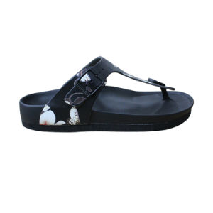 9bb6c8bc54e4a China Bulk Wholesale Women Leather Sandals and Slippers Shoes ...
