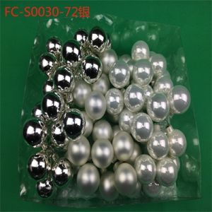 Crown Christmas Ornaments.Fa Crown Diy Glass Stem Ball Baubles 30mm For Christmas Decoration Christmas Ornaments