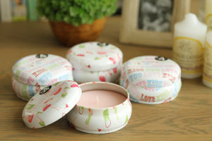 8oz Candle Tins with Lids pictures & photos