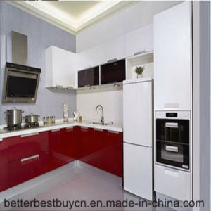 2016 Latest Price High Glossy Lacquer Kitchen Cabinet pictures & photos