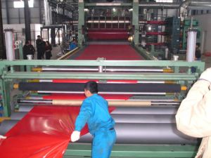 Decorative Material PVC Sheet Plastic Machinery/Calender Line pictures & photos