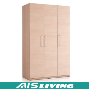 Custom Made Bedroom Nature Color Wardrobe Closet Cabinet (AIS W149)