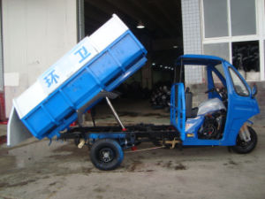 Semi Cabin of 3 Wheel Motorcycle for Garbage Truck pictures & photos